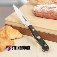 STEINBRUCKE 4 Inch Paring Peeling Knife German Stainless Steel Ergonomic Handle