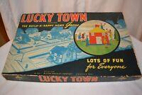 Vintage 1946 Lucky Town Board Game Milton Bradley