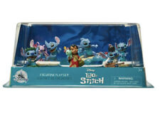 NEW Disney LILO & STITCH Figurine Playset 6 Figure Surfer Elvis Aloha Gift