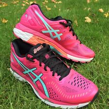 ASICS Women Gel-Kayano 23 T696N Running Shoes Trainers Fluid Fit Knit Size 42