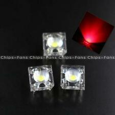 50PCS 5mm F5 Red Piranha LED Round Head Super Bright Light Emitting Diode