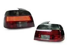 DEPO 2001-03 BMW E39 5 Series Red/Smoke Lightbar LED Replacement Tail Lights New