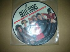 "BELLE STARS - SWEET MEMORY..UK.STIFF BUY.174 7"" VINYL PICTURE DISC"