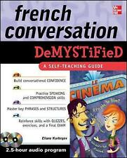 French Conversation Demystified with Two Audio CDs by Eliane Kurbegov (Book,...