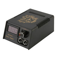 Professional Digital LCD Dual Tattoo Power Supply for Foot Pedal Switch Machine