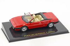 Ferrari Mondial Cabriolet rot mit Vitrine 1 43 ALTAYA