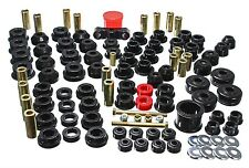 ENERGY SUSPENSION 1988-1991 HONDA CIVIC / CRX POLY COMPLETE BUSHING KIT - BLACK