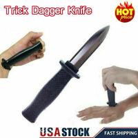 Creative spoof funny trick toy props sword through finger april fools dayMa PKJ