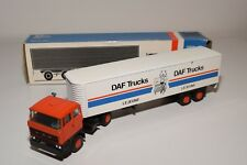 ± LION CAR DAF 2800 TRUCK WITH TRAILER DAF TRUCKS LE JEUNE NEAR MINT BOXED
