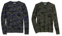 American Rag New Men's Camouflage Crewneck Pullover Sweater