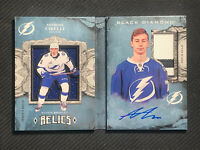 2018-19 BLACK DIAMOND ANTHONY CIRELLI ROOKIE BOOKLET RELICS PATCH AUTO #ed 78/99