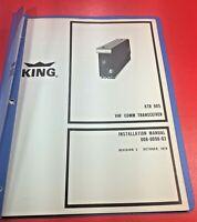 1979 King KTR 905 VHF COMM Transceiver Installation Manual 006-0098-03