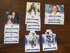17-18 Upper Deck Maple Leaf Centennial Short Print 13 Card Lot Auston Matthews!!