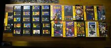 EVERY USA Sega 32x Cart GAME Lot- Spiderman Web of Fire Pitfall Knuckles