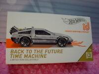 2019 Hot Wheels id BACK TO THE FUTURE TIME MACHINE☆zamac DeLorean☆ SCREEN TIME🎬