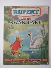 Rupert And The Swan Lake
