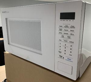 Sharp Carousel 1.1 Cu. Ft. Mid-Size Microwave White SMC1131CW  1000 watts