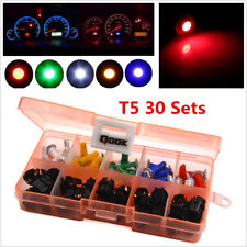 30 T5 Instrument Panel Cluster Plug Dash Light Mix LED Bulb Lights For Car SUV