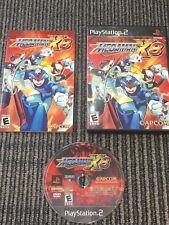Mega Man X8 (Sony PlayStation 2, 2004) Black Label Complete CIB