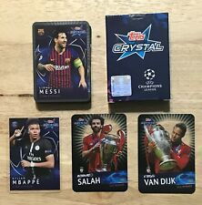 2018/19 Topps Crystal UEFA Champions League 41 Card Set