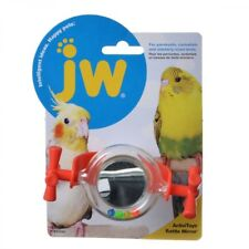 JW Pet Insight Activitoy Rattle Mirror Colors Vary (Free Shipping in USA)