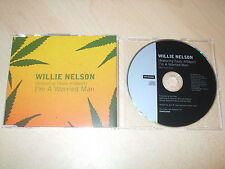 Willie Nelson - I'm a Worried Man (CD) 1 Track Promo - Nr Mint  Rare