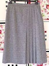 Regular Size Wool Blend Vintage Skirts for Women