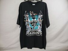 2003 Florida Marlins We're #1 Team T-Shirt Mens XL