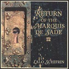 Audio CD Return of the Marquis de Sade - Lalo Schifrin - Free Shipping