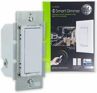 GE Enbrighten, White & Light Almond, Z-Wave Plus Smart Light Dimmer, smart home
