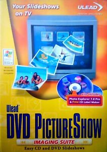 Ulead DVD Picture Show Imaging Suite - EXCELLENT Condition - FREE UK DELIVERY