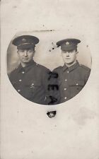 WW1 soldier ASC Army Service Corps inc Wm Robinson ? Bradford in France Colombes