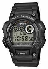 Casio Zwart Horloge Met Trillend Alarm Voor W-735H-1AVEF Horloge
