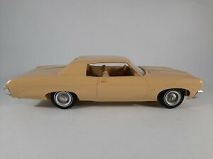 Vtg 1970 Chevrolet Impala Yellow Promo Plastic Car