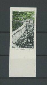 DDR PH 1401 TALSPERREN 1968 PHASENDRUCK 3. PHASE RAND!! Mi 125.- PROOF!! m2049
