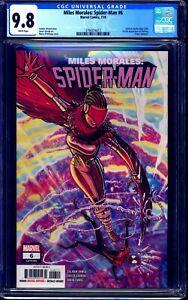 Miles Morales Spider-Man #6 CGC 9.8 1st Starling Tiana Tooms NM/MT