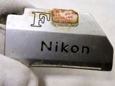 Nikon F TN Photomic Camera logo name plate part only
