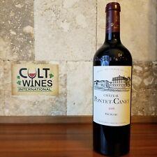 WE 100 pts! 2016 Chateau Pontet Canet Bordeaux wine, Pauillac