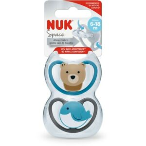 NUK Space Soother 6-18m Dummy Pacifier