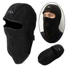 Winter Motorcycle Balaclava Thermal Fleece Warm Full Face Neck Mask Cover Cap