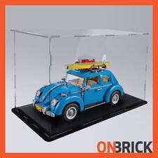 ONBRICK LEGO 10252 Volkswagen Beetle 3mm Premium Acrylic Display Case