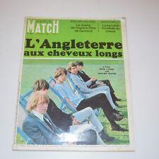 (ROLLING STONES) PARIS MATCH - ROLLING STONES COVER - ORIGINAL REVUE 1966