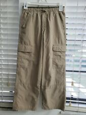 Cherokee boys cargo pants, size 8,color khaki