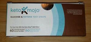 Keto-Mojo GK+ COMBO Test Strips (60 Glucose & Ketone)