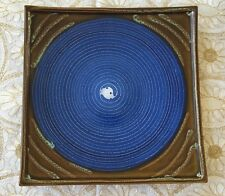 Ceramic Square Plate by Country Originals - Blue Large