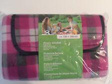 Plaid étanche couverture imperméable pour pique nique 120x150 cm (picnic rando)
