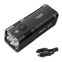 NITECORE Concept 2 (C2) 6500 lm Compact Rechargeable Flashlight & Car Adapter
