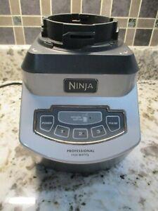 Ninja Pro System 1100 Blender Power Motor Base Only NJ602 (Tested)