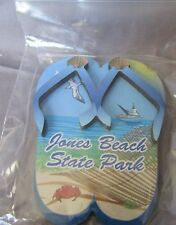 JONES BEACH STATE PARK, WANTAGH, NY OCEAN SCENE FLIP FLOPS