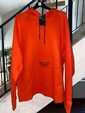 Nike LeBron Witness LONG LIVE THE KING Hoodie XXL 2XL Orange Jordan XVII 17 XI